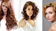 Модные Стрижки для Вьющихся Волос
